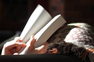 book and blanket gifts for readers