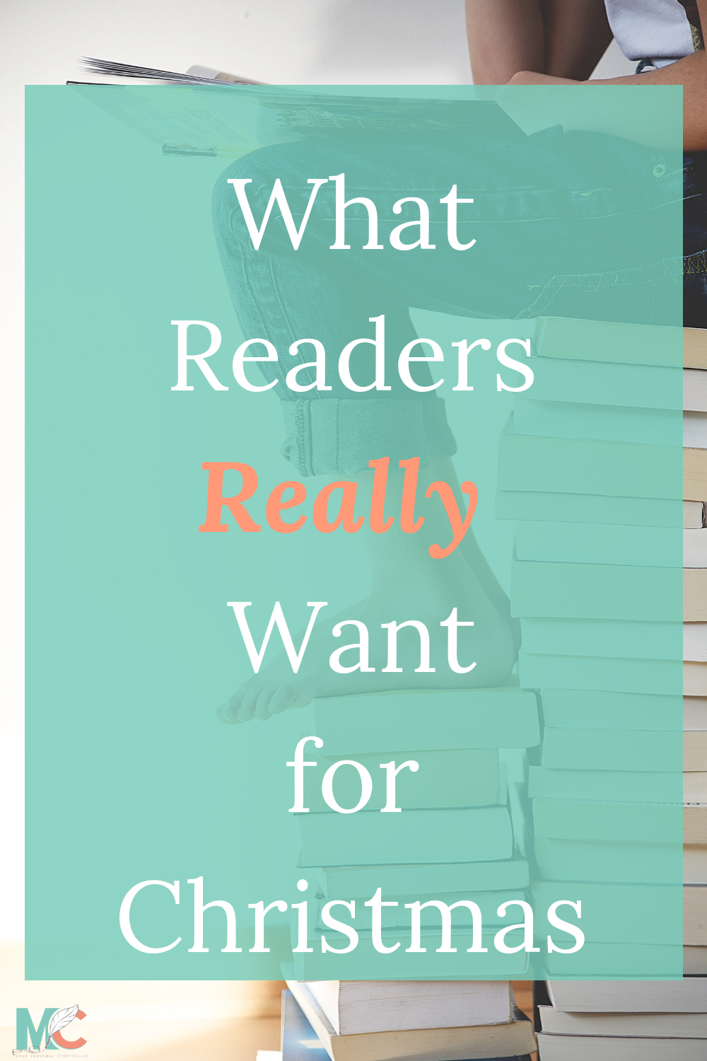 Looking for the perfect gift for the reader in your life? Read the blog to find out what every reader really wants for Christmas. Hint: It's NOT a book!