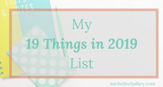 19 Things in 2019