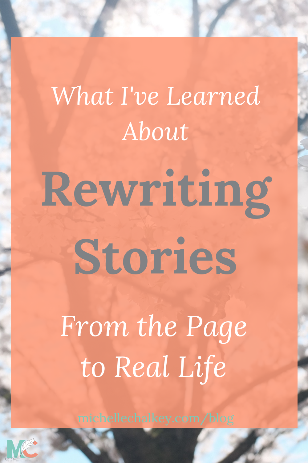 What stories do you tell yourself that maybe aren't true anymore? Here's what I've learned about rewriting stories, from essay drafts to leftover drafts from adolescence. #writing #stories #editing