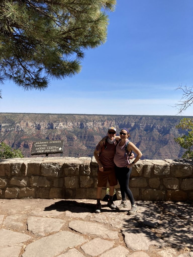 Kyle and me at the Grand Canyon